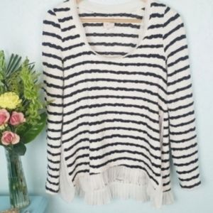 Anthropologie Postmark Walkrite sweater tee